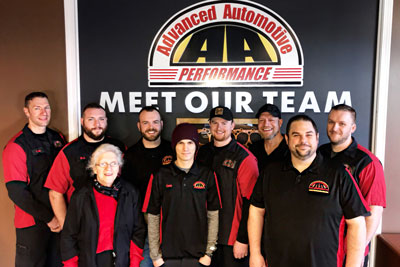 Our Team | Advanced Automotive Performance
